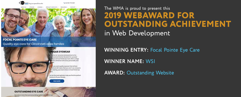 wsi summit receives wma web award